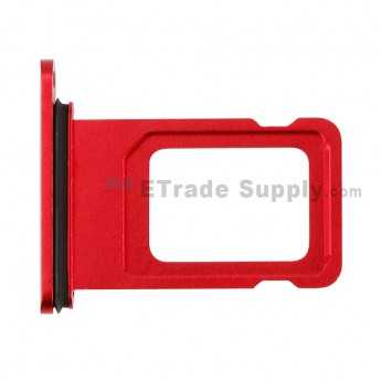 For Apple iPhone 11 SIM Card Tray Replacement - Red - Grade S+ (0)