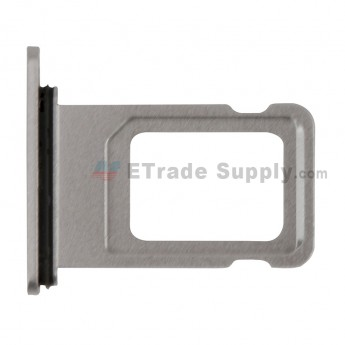 For Apple iPhone 11 SIM Card Tray Replacement - White - Grade S+ (0)