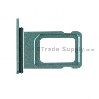 For Apple iPhone 11 SIM Card Tray Replacement (Double SIM Card) - Green - Grade S+ (0)