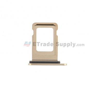 For Apple iPhone 12 Pro/12 Pro Max SIM Card Tray Replacement (Single SIM Card) -Gold - Grade S+ (0)
