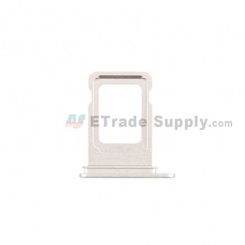 For Apple iPhone 12 SIM Card Tray Replacement (Single SIM Card) -White - Grade S+ (0)