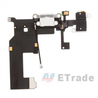 For Apple iPhone 5 Charging Port Flex Cable Ribbon Replacement - White - Grade R (0)