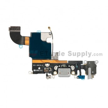 For Apple iPhone 6S Charging Port Flex Cable Ribbon Replacement - Dark Gray - Grade R (0)