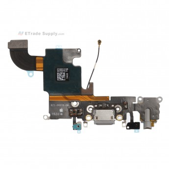For Apple iPhone 6S Charging Port Flex Cable Ribbon Replacement - Light Gray - Grade R (0)