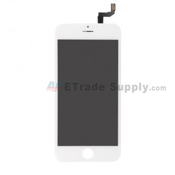 For Apple iPhone 6S LCD Screen and Digitizer Assembly with Frame Replacement (AUO) - White - Grade R (1)