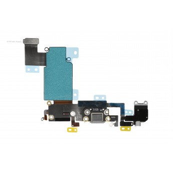 For Apple iPhone 6S Plus Charging Port Flex Cable Ribbon Replacement - Dark Gray - Grade R (0)