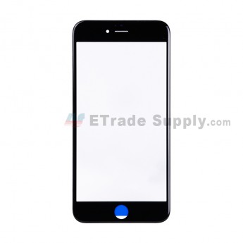 For Apple iPhone 6S Plus Glass Lens with Frame Replacement - Black - Grade S+ (1)