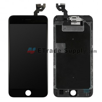 For Apple iPhone 6S Plus LCD Screen and Digitizer Assembly with Frame and Small Parts (without Home Button) Replacement - Black - Grade A (7)