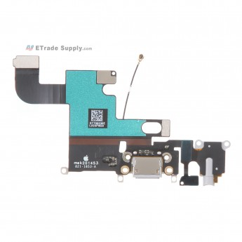 For Apple iPhone 6 Charging Port Flex Cable Ribbon Replacement - Dark Gray - Grade R (0)