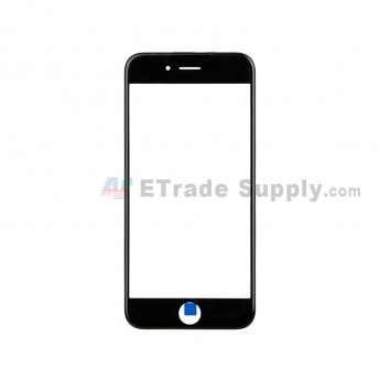 For Apple iPhone 6 Glass Lens with Frame Replacement - Black - Grade S+ (0)