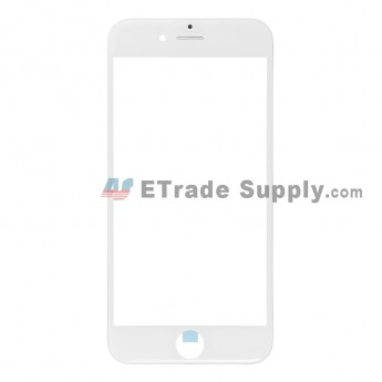 For Apple iPhone 6 Glass Lens with Frame Replacement - White - Grade R (0)