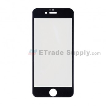 For Apple iPhone 6 Tempered Glass Screen Protector (With Package) - Black - Grade R (1)