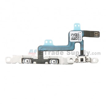 For Apple iPhone 6 Volume Button Flex Cable Ribbon Assembly Replacement - Grade S+ (0)