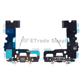 For Apple iPhone 7 Charging Port Flex Cable Ribbon Replacement - Black - Grade R (2)