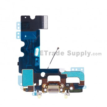 For Apple iPhone 7 Charging Port Flex Cable Ribbon Replacement - Gray - Grade S+ (2)