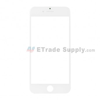 For Apple iPhone 7 Glass Lens Replacement - White - Grade S+ (1)