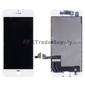 For Apple iPhone 7 LCD Screen and Digitizer Assembly with Frame - White - Grade A (6)