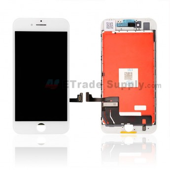 For Apple iPhone 7 LCD Screen and Digitizer Assembly with Frame Replacement - White - Grade S+ (7)
