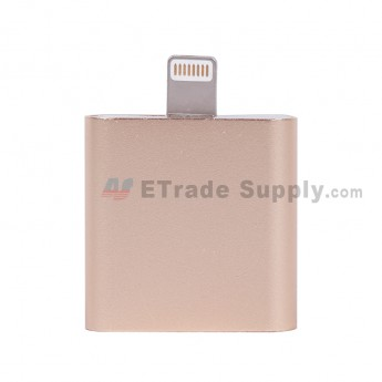 For Apple iPhone 7 Lightning to Audio + Charger - Gold - Grade R (1)