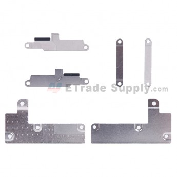 For Apple iPhone 7 Motherboard PCB Connector Retaining Bracket Replacement (3 pcs/set) - Grade S+ (2)
