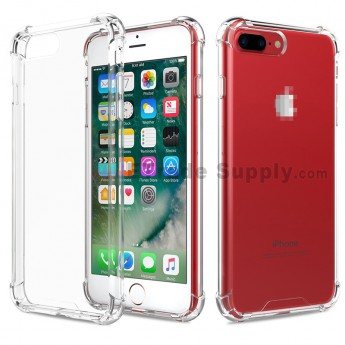 For Apple iPhone 7 Plus/8 Plus Silicone Corners Balloon Anti-fall Protective Case (5)