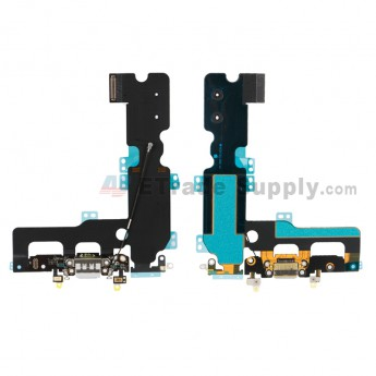 For Apple iPhone 7 Plus Charging Port Flex Cable Ribbon Replacement - Gray - Grade R (2)