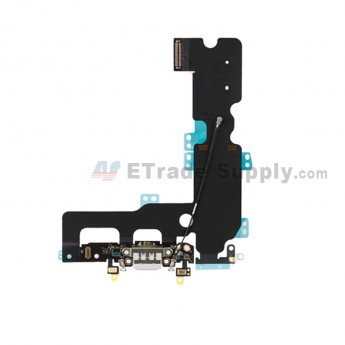 For Apple iPhone 7 Plus Charging Port Flex Cable Ribbon Replacement - Gray - Grade S+ (0)