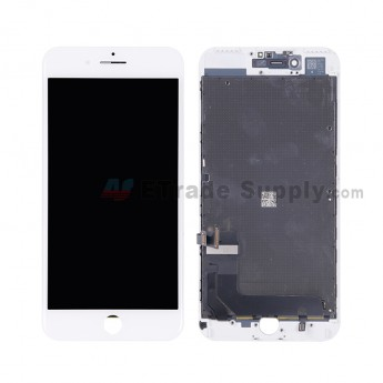 For Apple iPhone 7 Plus LCD Screen and Digitizer Assembly with Frame - White - Grade A (2)
