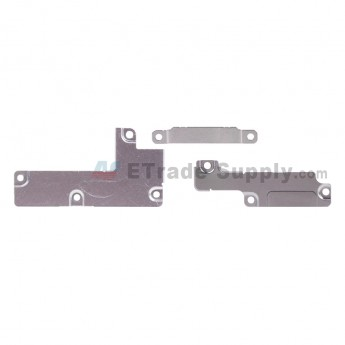 For Apple iPhone 7 Plus Motherboard PCB Connector Retaining Bracket Replacement (3 pcs/set) - Grade S+ (0)