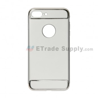 For Apple iPhone 7 Plus Protective Case - Silver - Grade R (2)