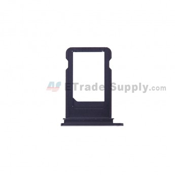 For Apple iPhone 7 Plus SIM Card Tray Replacement - Black - Grade S+ (1)