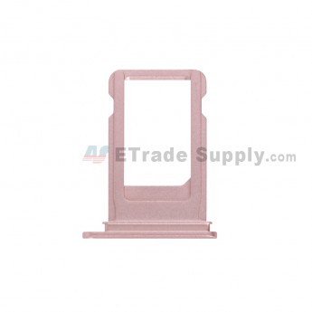 For Apple iPhone 7 Plus SIM Card Tray Replacement - Rose Gold - Grade S+ (0)