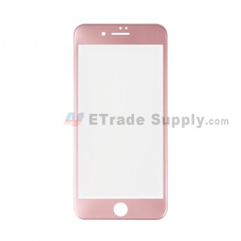 For Apple iPhone 7 Plus Tempered Glass Screen Protector (With Package) - Rose Gold - Grade R (0)