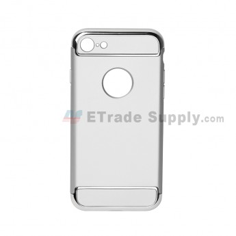For Apple iPhone 7 Protective Case - Silver - Grade R (1)