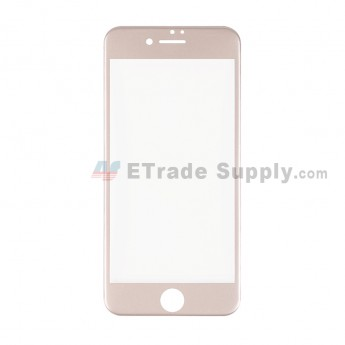 For Apple iPhone 7 Tempered Glass Screen Protector (With Package) - Gold - Grade R (1)