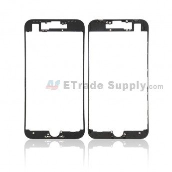 For Apple iPhone 8 Digitizer Frame Replacement - Black - Grade S+ (0)