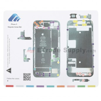 For Apple iPhone 8 Magnetic Screw Mat Replacement - Grade R (0)