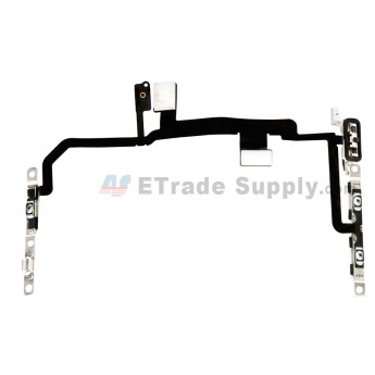 For Apple iPhone 8 Plus Power Button and Volume Button Flex Cable Ribbon Assembly Replacement - Grade S+ (0)