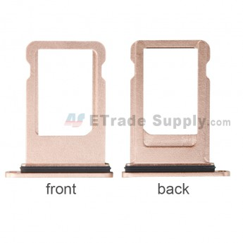 For Apple iPhone 8 Plus SIM Card Tray Replacement - Rose Gold - Grade S (12)