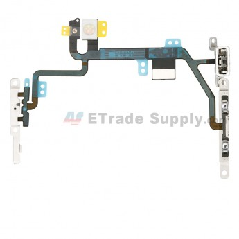 For Apple iPhone 8 Power Button and Volume Button Flex Cable Ribbon Replacement - Grade S+ (6)
