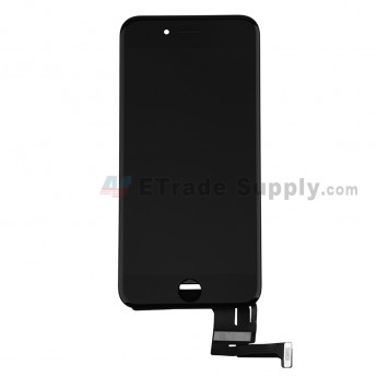 For Apple iPhone SE 2 LCD Screen and Digitizer Assembly with Frame Replacement - Black - Grade S+ (0)