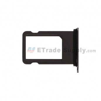 For Apple iPhone SE 2 SIM Card Tray Replacement - Black - Grade S+ (0)