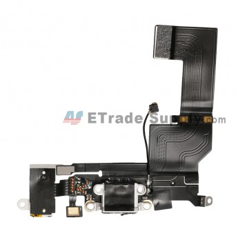 For Apple iPhone SE Charging Port Flex Cable Ribbon Replacement - White - Grade R (5)