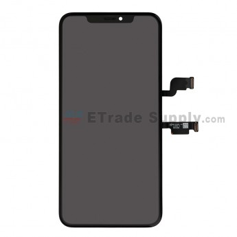 For Apple iPhone XS Max LCD Screen and Digitizer Assembly with Frame Replacement - Black - Grade S (0)