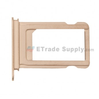 For Apple iPhone XS SIM Card Tray Replacement - Gold - Grade S+ (0)
