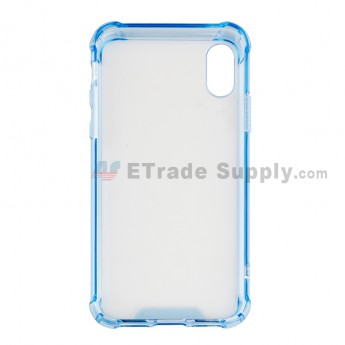 For Apple iPhone X Shatterproof Case Replacement - Light Blue - Grade R (0)