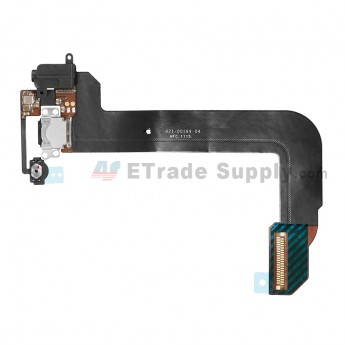 For Apple iPod Touch 6th Generation Charging Port Flex Cable Ribbon Replacement - Black - Grade S+ (0)