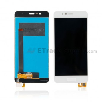 For Asus ZenFone 3 Max ZC520TL LCD Screen and Digitizer Assembly Replacement - White - With Logo - Grade S+ (0)