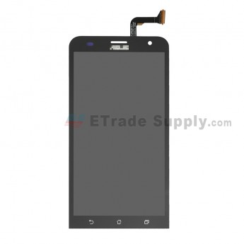 For Asus Zenfone 2 Laser ZE550KL LCD Screen and Digitizer Assembly Replacement - Black - With Logo - Grade S+ (0)