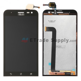 For Asus Zenfone 2 ZE500KL LCD Screen and Digitizer Assembly Replacement - Black - With Asus Logo - Grade S+ (0)